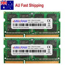 AU 8GB 2x4GB PC3-8500 DDR3-1066 204pin MacBook Pro Mid 2010 iMac Mac MINI Memory