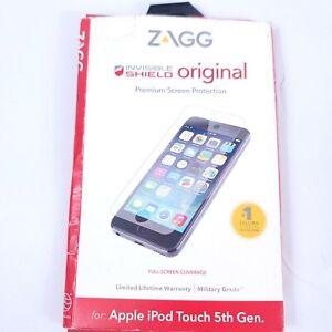 ZAGG iPod 5th Gen InvisibleShield- Original Fast Free Shipping