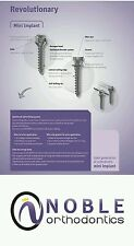 Orthodontic Micro Implant (2 pk) Mini Screw FDA