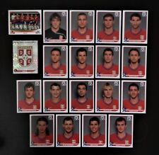 Panini FIFA World Cup South Africa 2010 Complete Team Serbia + Foil Badge
