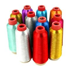 3500 Yards Embroidery Thread Cotton Industrial Sewing Machine Color Metallic