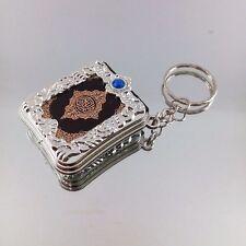 Resin Islamic Key Chain Mini Ark Quran Book Material Key Ring Car Bag Chram Gift