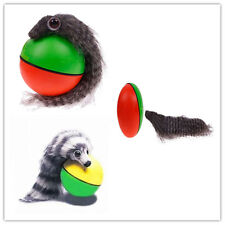 Hot New Funny Pet Dog Cat Rolling Ball with Weasel Motorized Appears Moving Toy