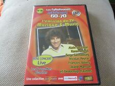 "DVD ""MUSIQUE & MUSIC"" Karen CHERYL, Serge GAINSBOURG, Francois VALERY, Dave, ..."