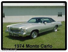 1974 Monte Carlo Auto Refrigerator / Tool Box  Magnet