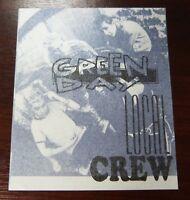 Green Day - VIP / Local Crew Pass - unbenutzt -