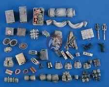 Verlinden 1/35 Sd.Kfz.251 German Half-track Stowage & Accessories Set WWII 2099