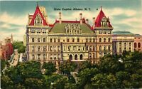 Vintage Postcard - Un-Posted View Of State Capital Albany New York NY #4244
