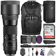 Sigma 150-600mm f/5-6.3 DG OS HSM Contemporary Lens for Canon EOS & Rebel DSLR