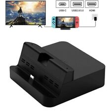 Portable Charging Dock Stand For Nintendo Switch Table Charger Docking Station-