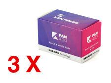 3 X Kentmere  PAN 400 135-36 / Pellicola negativo bianco e nero