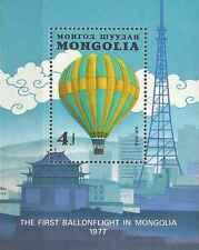 Timbre Ballons Mongolie BF88 ** lot 11498
