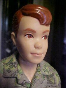 1960 Red Hair Allan Doll Ken's Buddy Barbie Mattel Hawthorne CA USA