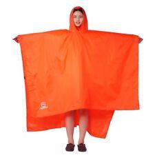 3 In 1 Multifunctional Rain Poncho Backpack Cover Tarp Hiking Rain Covers BP