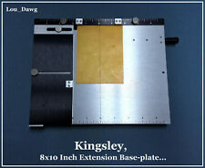 Kingsley Machine ( 8 x10 Inch Extension Base-plate ) Hot Foil Stamping Machine
