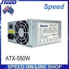 SPEED ATX-550W Desktop Computer PSU for Intel AMD PC Power Supply (550Watt)