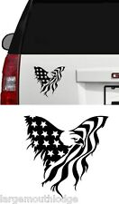 AMERICAN EAGLE FLAG STICKER GRAPHIC DECAL TRUCK CAR BOAT JEEP FORD CHEVY DODGE
