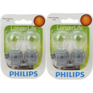 2 pc Philips 3156LLB2 Long Life Tail Light Bulbs for 27565 BP3156LL ws