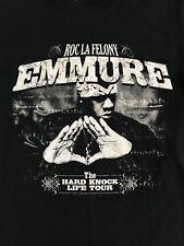 Emmure Roc La Felony T-shirt The Hard Knock Life Tour 2009 Size Small