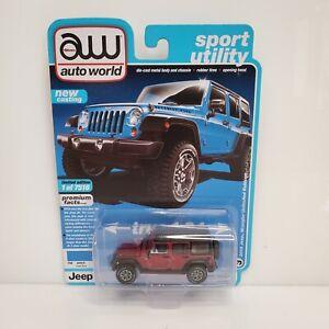 Rare Auto World Sport Utility 2018 Jeep Wrangler Unlimited Rubicon Ultra Red