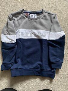 Boys Adidas Jumper Age 7-8 Years