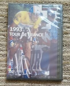 New Sealed World Cycling Productions 1993 Tour de France DVD Miguel Indurain