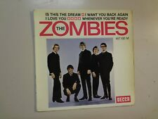 "ZOMBIES: Is This The Dream + 3-France 7"" 1966 Decca Disques 457.100 Orig. EP PCV"
