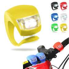 1X Bike Bicycle Silicone Light LED Front/Rear Safety Warning Lamp Random