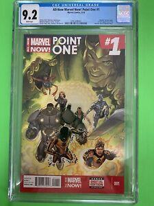 All-New Marvel Now! Point One #1 CGC 9.2 1st Full Kamala Khan