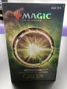 Commander Collection Green Premium Foil Sealed MTG Magic The Gathering