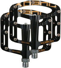 XPEDO XMX24MC MAGNESIUM PLATFORM PEDALS 243g MTB BMX DH NEW IN RETAIL BOX GOLD