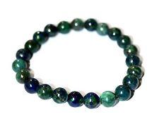 Bracelet azurite et malachite 8mm bijoux jewels