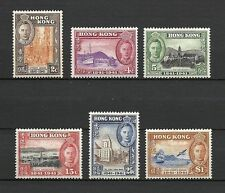 Mint Hinged Colony Single Hong Kong Stamps (Pre-1997)