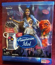 Barbie American Idol Simone Doll with Working Karaoke 2004 New