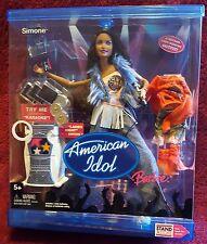Barbie American Idol Simone Doll with Working Karaoke 2004 New
