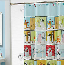 FABRIC - By Appointment - Barnyard Beauties SHOWER CURTAIN