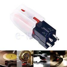 Turntable Phono Ceramic Cartridge W/ Stylus Needle For LP Vinyl Record Player BE