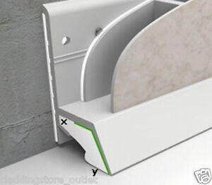 Cladseal Decorative Wall Panel & Cladding Sealing Trim Bathroom Shower Trim