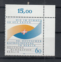 Berlin Briefmarken 1990 Katholikentag Berlin Mi.Nr.873** postfrisch Ecke