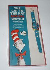 1974 Dr Seuss Cat in the Hat Digital Watch in Original Box Lafayette