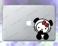Hello Kitty Panda (B) Color Vinyl Sticker for Macbook Air/Pro