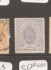 Luxembourg SC 19a lilac or b gray lilac (you decide) MNG (9ayh)