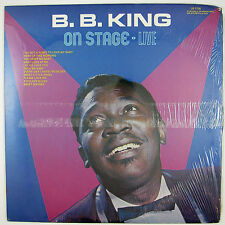 B.B. KING On Stage - Live LP 197? LIVE BLUES (STILL SEALED/UNPLAYED)