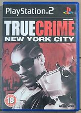 PAL Version True Crime: New York City (Sony PlayStation 2 PS2, 2005) COMPLETE