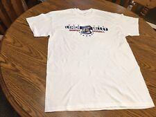 Lehigh Valley Iron Pigs Promotional SGA Adult White T-Shirt, Size Medium - NEW