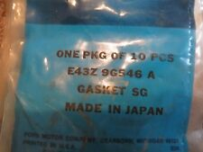 NOS 1984 - 1987 FORD TEMPO 2.0L DIESEL FUEL INJECTION LEAKOFF GASKETS E43Z9G546A