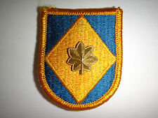 US Army XVIII Corps AIRBORNE Beret Patch + MAJOR Rank Insignia