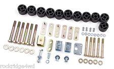 "Zone Offroad 1-1/4"" Body Lift Kit 97 98 99 00 01 02 03-06 Jeep TJ Wrangler 4x4"