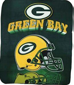 "Greenbay Packers logo Large Soft Fleece Throw Blanket 50"" X 60"" by NORTHWEST FS"