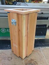 Mülleimer aus Holz,Mülleimer,Müllsackständer,Abfallbehälter,Abfall